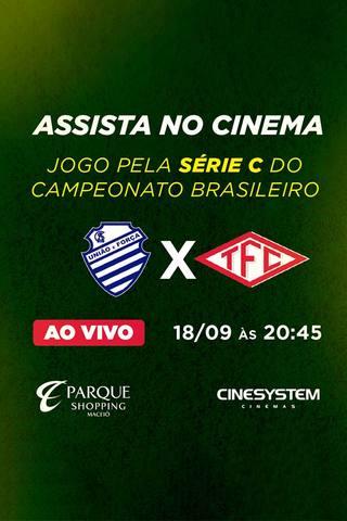 Campeonato Série C 2017 - Tombense x CSA