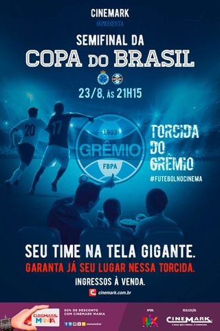 Copa do Brasil 2017 - Torcida Grêmio